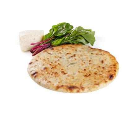 Осетинский пирог с листьями свеклы и сыром