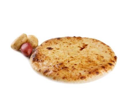Постный пирог с картофелем